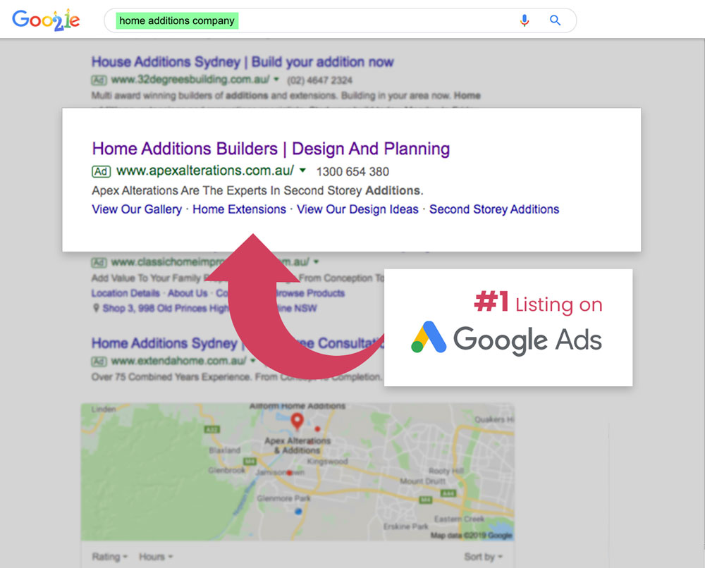 Google Adwords Agency Sydney